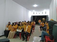 Rapat Koordinasi Partai Hanura Riau yang berlangsung di kediaman Herawati