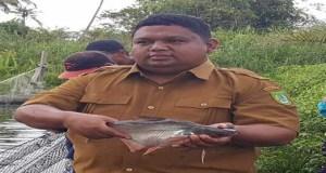 Kepala Dinas Kelautan dan Perikanan Kabupaten Rokan Hilir Muhammad Amin, Spi. MSi