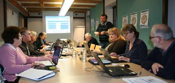 Formation réseaux sociaux pour élus avec l' ARIC