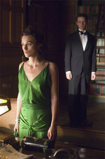 James McAvoy y Keira Knightley