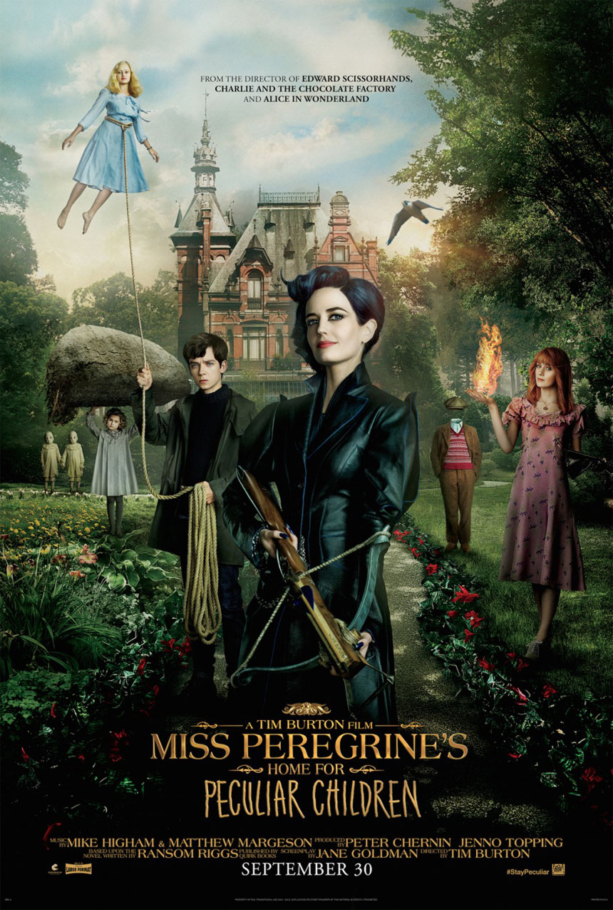 Image result for miss peregrine's home for peculiars movie poster