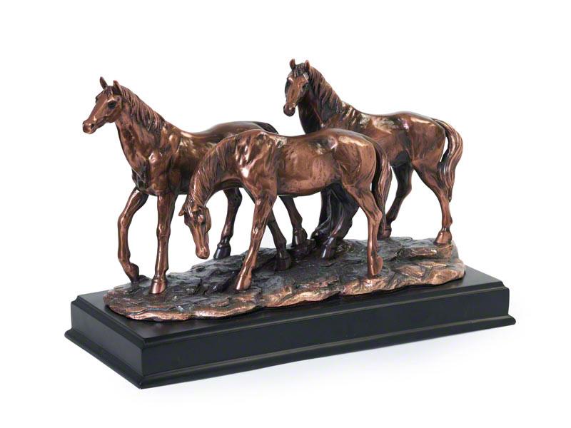 """Horse Keepsake Urn """"Friends Together"""""""