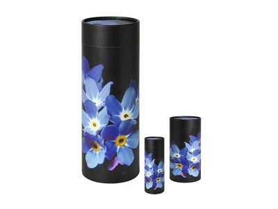 Scatter Tube Dark Forget-Me-Not Design