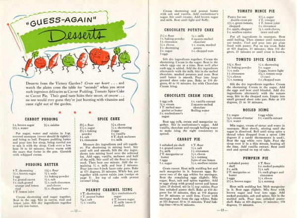 ration recipes
