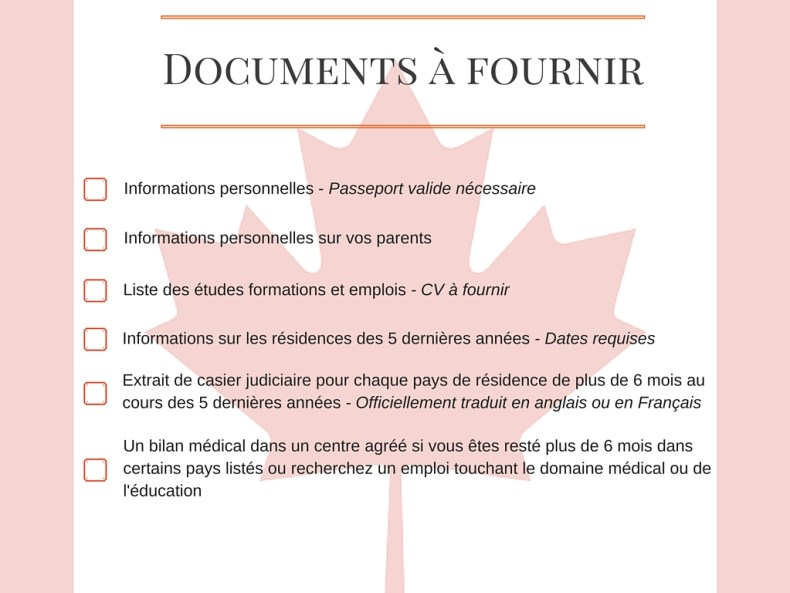 Trick or Trip - PVT Canada - Liste de documents