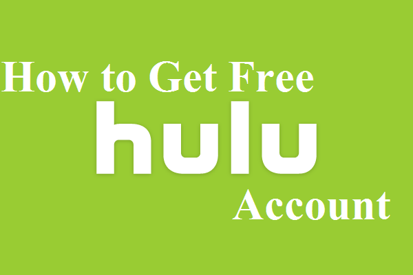 how to get free hulu account without credit card tricks by stg. Black Bedroom Furniture Sets. Home Design Ideas