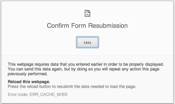 How to Fix PHP Error Confirm Form Resubmission? [Solved