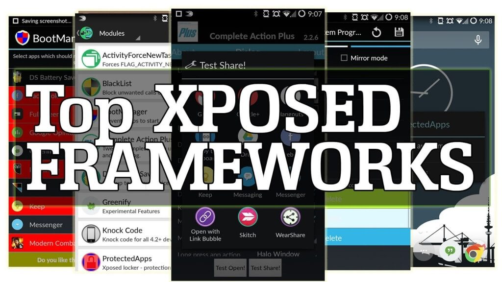 top-best-xposed-modules-framework