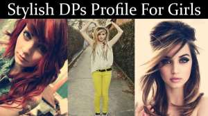 Girls Stylish Profile DPs For WhatsApp & Facebook
