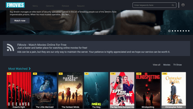 Online video streaming free