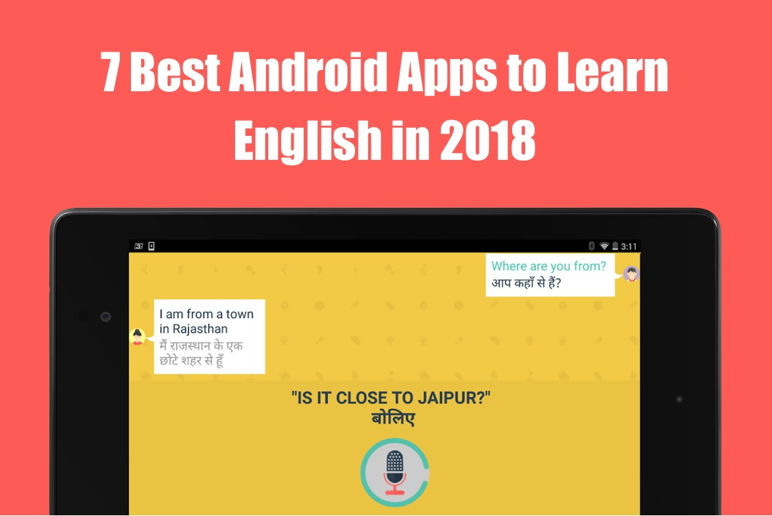 7 Best Android Apps to Learn English in 2018