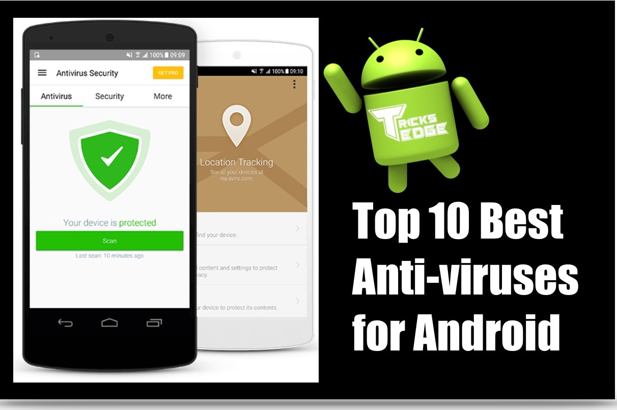 Best Anti-viruses for Android