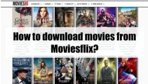How to download movies from Moviesflix