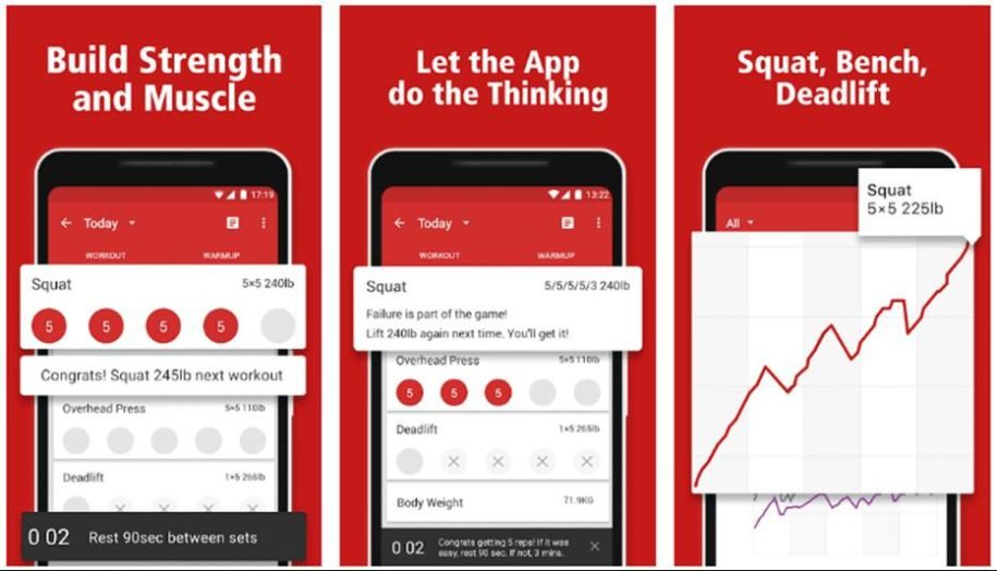 sworkit Top 10 Best health and fitness app for android