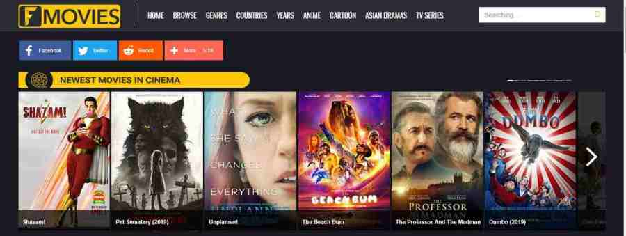 Top 50 Best Fmovies Proxy Sites List To Unblock Fmovies 2020