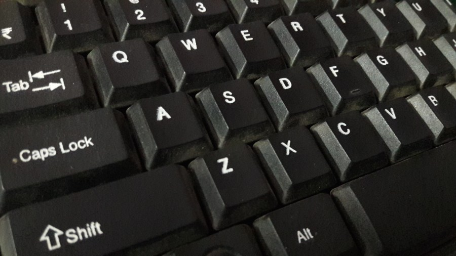 All shortcut keys of computer a to z