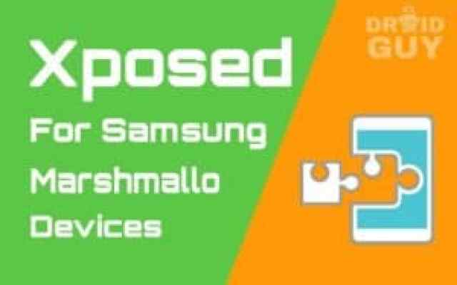 xposed for samsung marshmallow guide