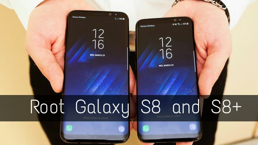 Root and Install TWRP on S8
