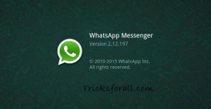 Update Your WhatsApp To ver 2.12.197 Now