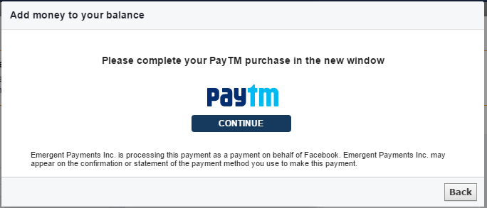 Boost Post Paytm Wallet