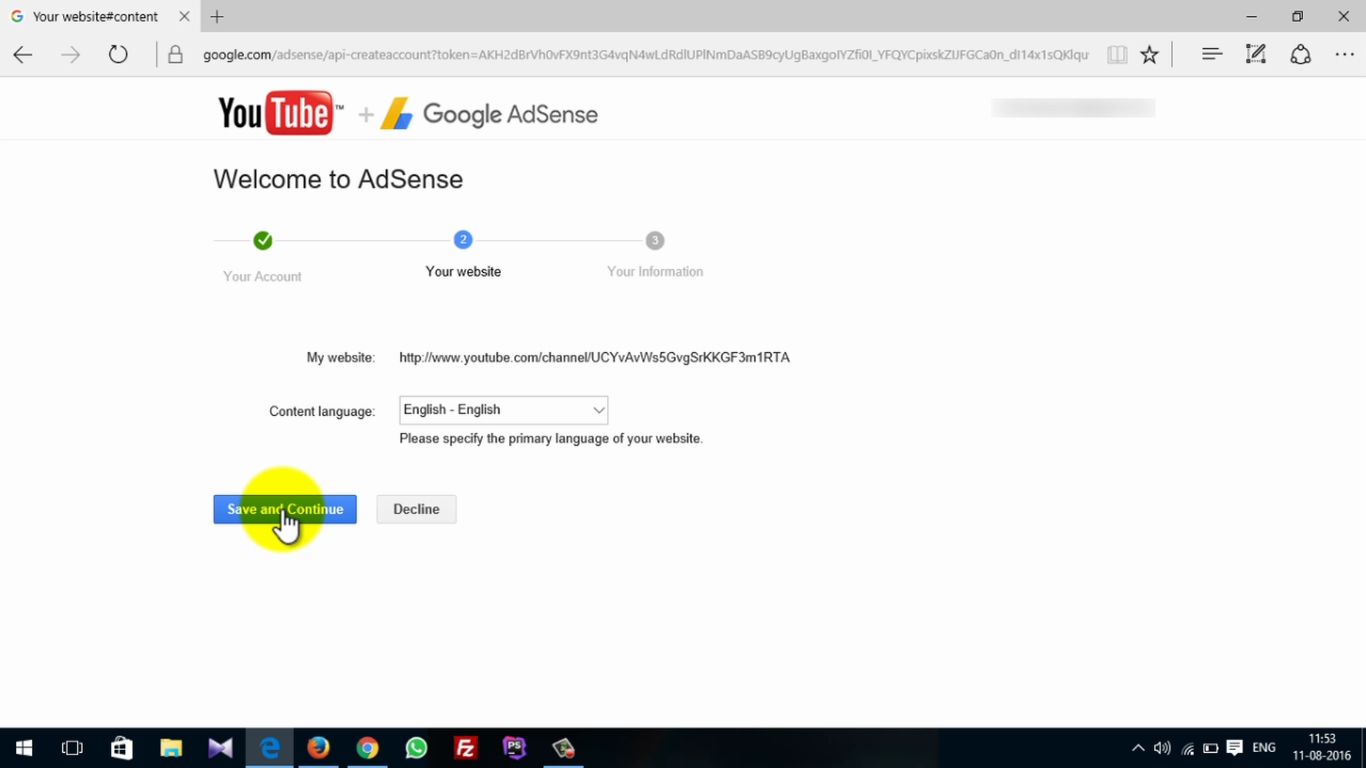How To Activate Adsense On Youtube 9