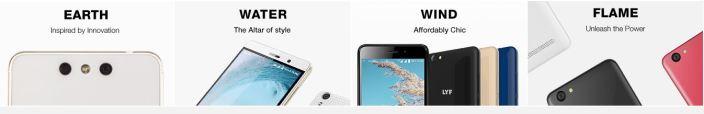 LYF Smart Phones