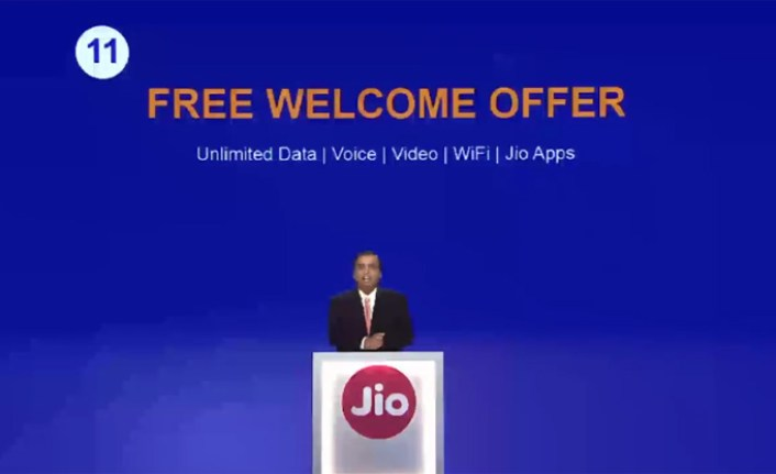 Reliance jio welcome offer