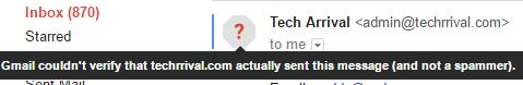 Gmail Spam Filter