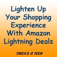 Amazon lightening deals offers
