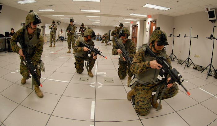 Virtual Reality Use in Military