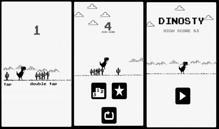 The Dinosaur game