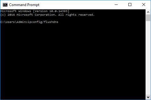 Flush DNS Method