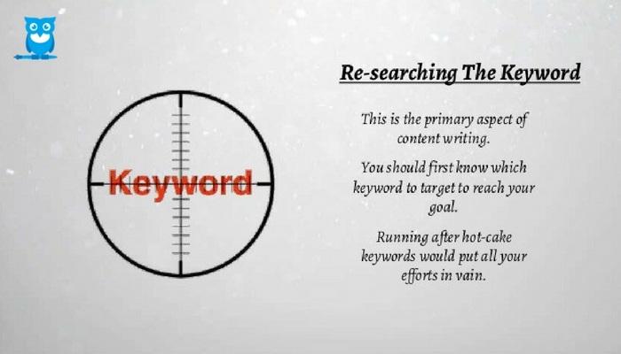 Researching keyword