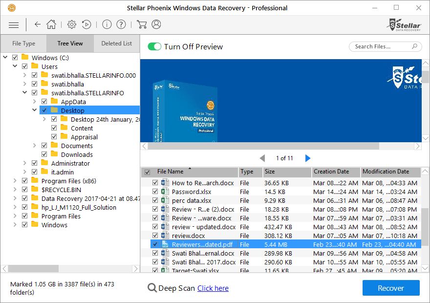 How to recover lost data - partition from Windows system 4