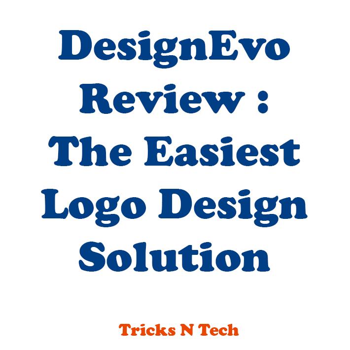 DesignEvo Review - The Easiest Logo Design Solution