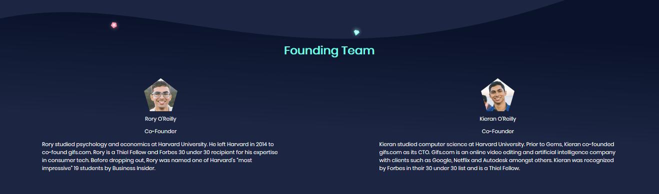gems ico founder