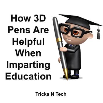 3D Pens in Education