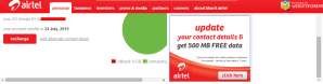 [HoT Free Internet] Get Official Free 500 MB Data On Airtel 3G