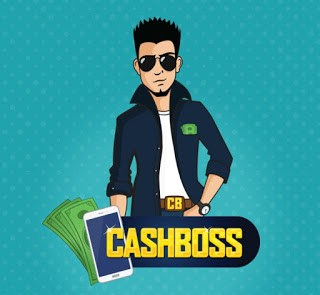 Cashboss Refer and earn 25₹