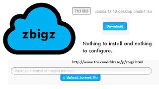 Free Zbigz Premium Account Hourly Updates