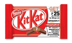 Earn Free 25 Rs Gift Card Amazon Kitkat Offer