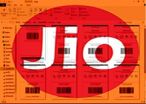 Generate Unlimited Reliance Jio 4G Barcode