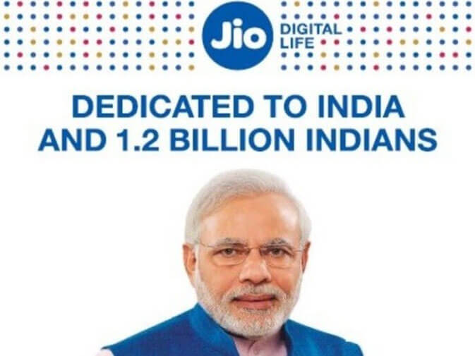 Reliance Jio has to Pay Fine for Using PM Modi's Pic in AD