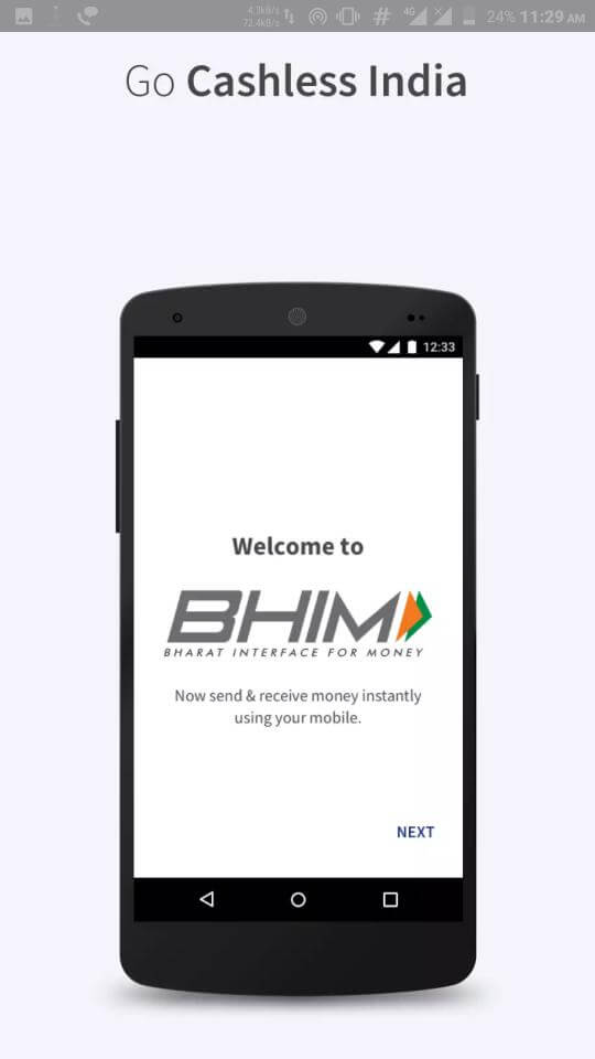Go Cashless BHIM App Launched Here is Everything You Need to Know