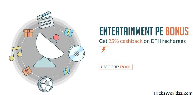 Freecharge DTH Full Cashback Offers
