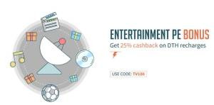 Freecharge DTH Full Cashback Offers All Users