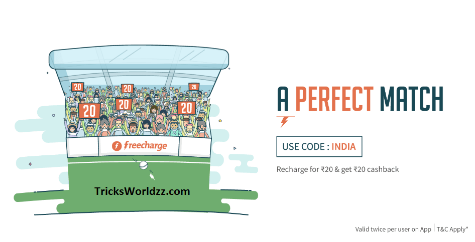 Freecharge Full Cashback Coupons All Users Get Free Recharge