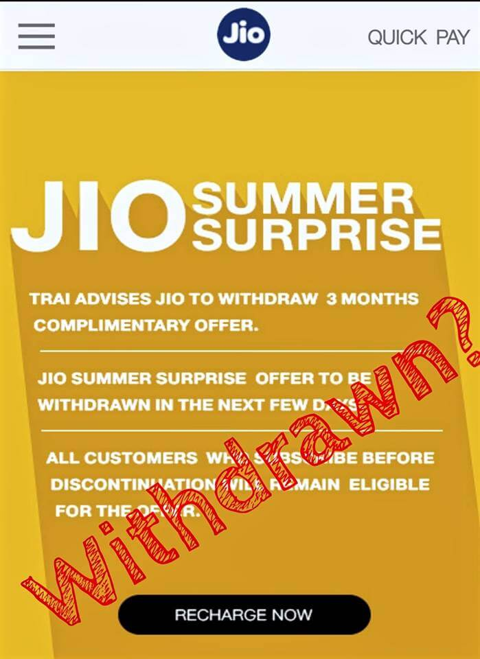 Recharge Reliance Jio Prime Plans ASAP!