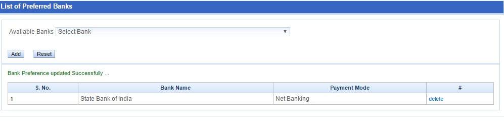 Book IRCTC Confirm Tatkal Ticket Online Add preferred bank