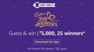 Amazon Cadbury Contest